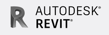 Autodesk Revit logo BW