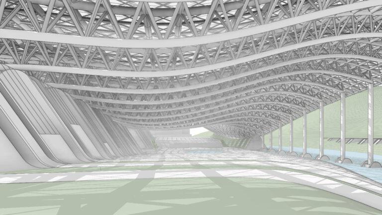 Progetto di Virtual Costruction BIM per rammendo periferie interno