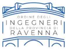 Logo Ordine degli ingegneri della provincia di Ravenna