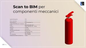 Scan to BIM per digitalizzare schede tecniche